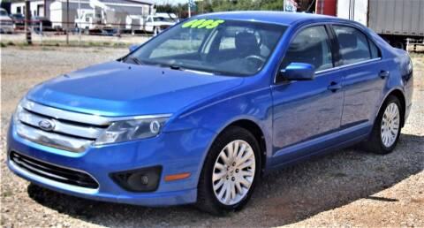 2011 Ford Fusion for sale at Advantage Auto Sales in Wichita Falls TX