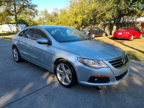 2012 Volkswagen CC for sale at G&J Car Sales in Houston TX