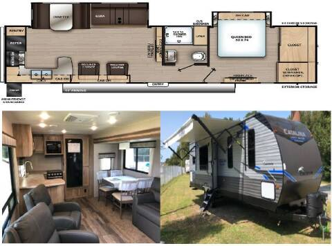 2021 Coachmen Catalina 303RKDS for sale at S & M WHEELESTATE SALES INC - Camper in Princeton NC