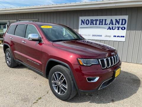2017 Jeep Grand Cherokee for sale at Northland Auto in Humboldt IA