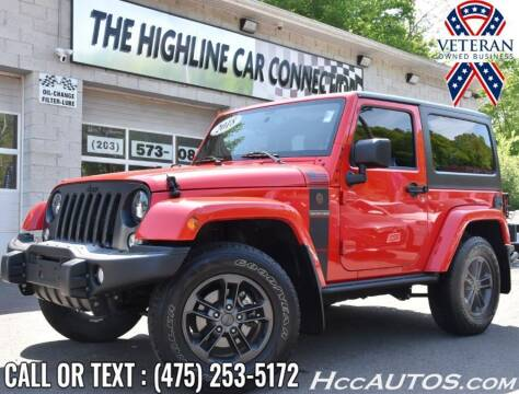 2018 Jeep Wrangler JK for sale at The Highline Car Connection in Waterbury CT