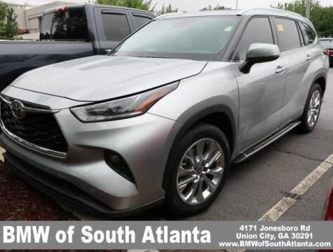 2020 Toyota Highlander for sale at Carol Benner @ BMW of South Atlanta in Union City GA