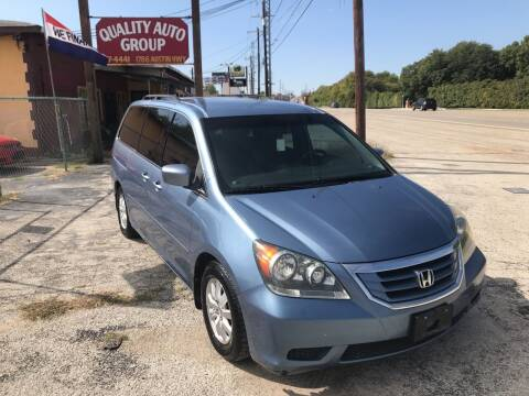2008 Honda Odyssey for sale at Quality Auto Group in San Antonio TX