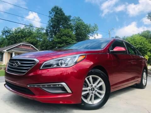 2015 Hyundai Sonata for sale at Cobb Luxury Cars in Marietta GA