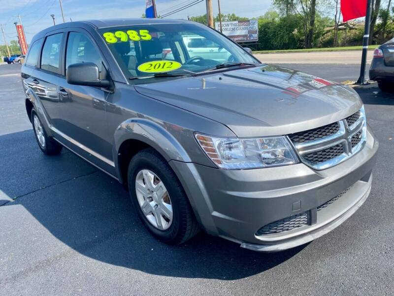2012 Dodge Journey for sale at Used Car Factory Sales & Service Troy in Troy OH