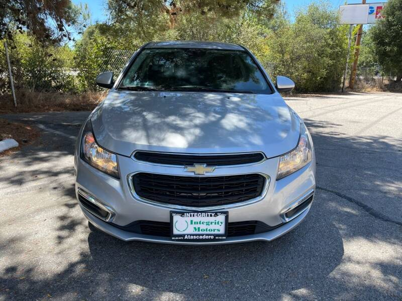 2016 Chevrolet Cruze Limited for sale in Atascadero, CA
