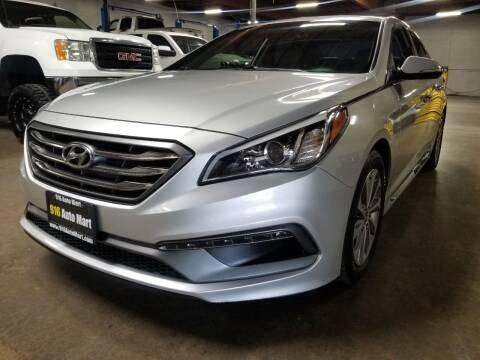 2017 Hyundai Sonata for sale at 916 Auto Mart in Sacramento CA
