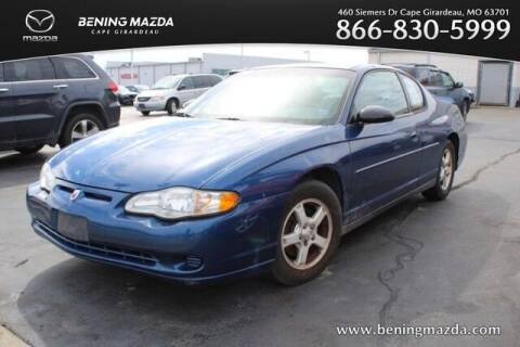 2003 Chevrolet Monte Carlo for sale at Bening Mazda in Cape Girardeau MO
