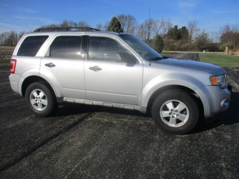 2010 Ford Escape for sale at Crossroads Used Cars Inc. in Tremont IL