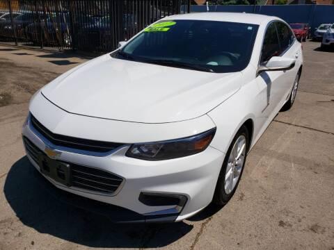 2017 Chevrolet Malibu for sale at Gus's Used Auto Sales in Detroit MI