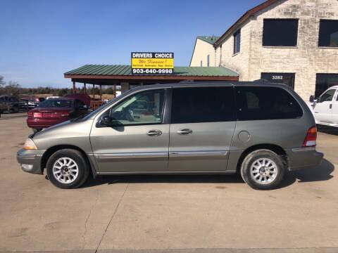 2000 Ford Windstar for sale at Driver's Choice in Sherman TX