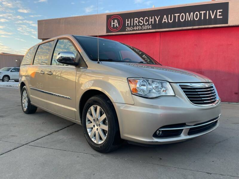 2015 Chrysler Town and Country for sale at Hirschy Automotive in Fort Wayne IN