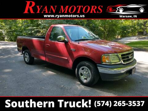 2002 Ford F-150 for sale at Ryan Motors LLC in Warsaw IN