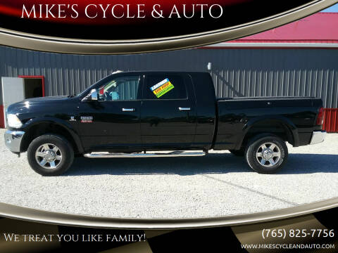 2012 RAM Ram Pickup 2500 for sale at MIKE'S CYCLE & AUTO in Connersville IN