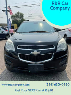 2012 Chevrolet Equinox for sale at R&R Car Company in Mount Clemens MI