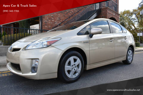 2011 Toyota Prius for sale at Apex Car & Truck Sales in Apex NC