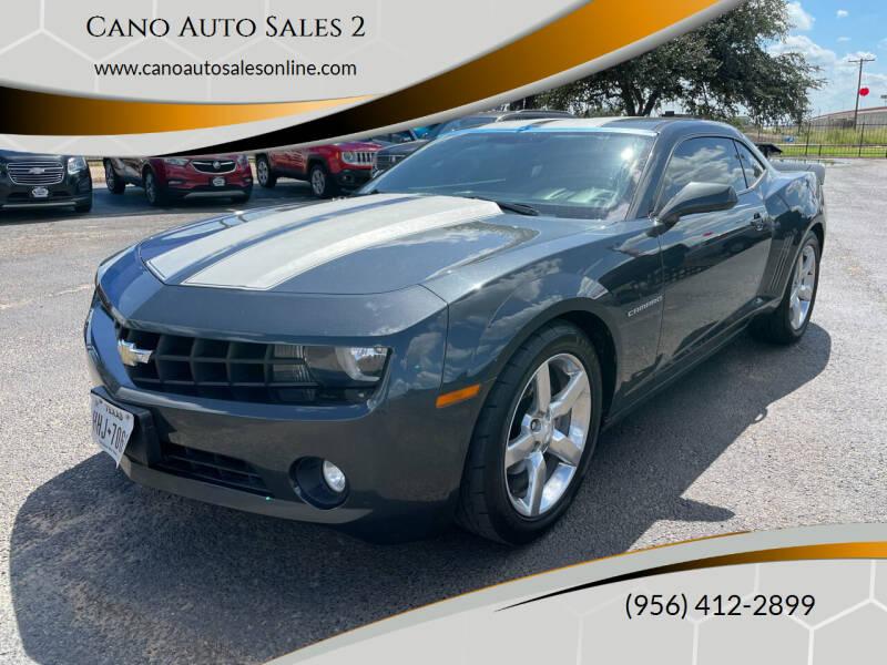 2013 Chevrolet Camaro for sale at Cano Auto Sales 2 in Harlingen TX