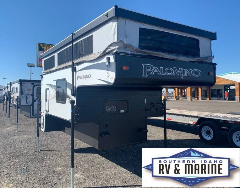 2022 FOREST RIVER PALOMINO SS-500 for sale at SOUTHERN IDAHO RV AND MARINE - Truck Campers - New and Used in Jerome ID
