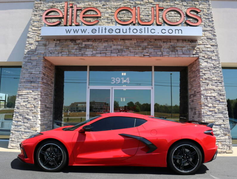 2020 Chevrolet Corvette for sale at Elite Autos LLC in Jonesboro AR