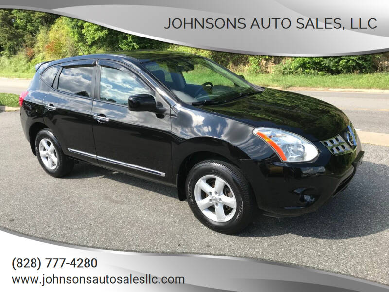 2013 Nissan Rogue for sale at Johnsons Auto Sales, LLC in Marshall NC