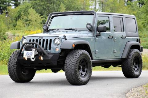 2014 Jeep Wrangler Unlimited for sale at Miers Motorsports in Hampstead NH