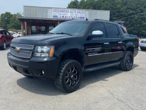 2010 Chevrolet Avalanche for sale at Greenbrier Auto Sales in Greenbrier AR
