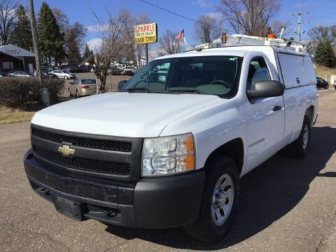 2008 Chevrolet Silverado 1500 for sale at Sparkle Auto Sales in Maplewood MN