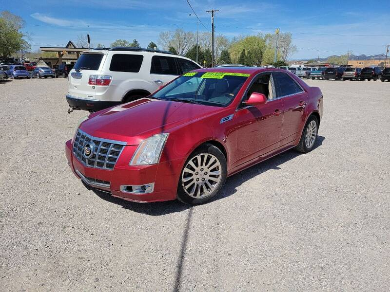 2010 Cadillac CTS for sale at Canyon View Auto Sales in Cedar City UT