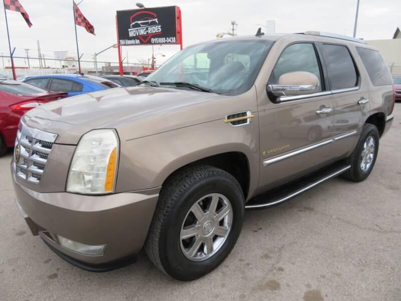 2007 Cadillac Escalade for sale at Moving Rides in El Paso TX