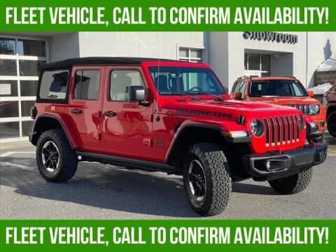 2020 Jeep Wrangler Unlimited for sale at Bob Weaver Auto in Pottsville PA