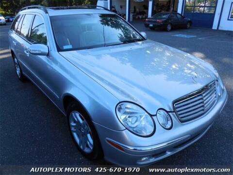 2004 Mercedes-Benz E-Class for sale at Autoplex Motors in Lynnwood WA