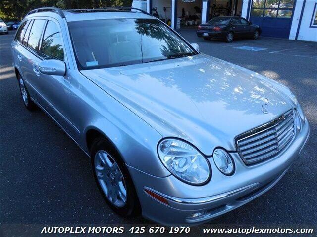 2004 Mercedes-Benz E-Class for sale at Autoplex Motors in Lynnwood WA