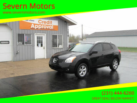 2008 Nissan Rogue for sale at Severn Motors in Cadillac MI