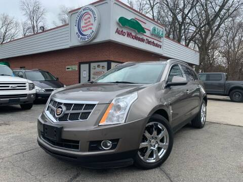 2012 Cadillac SRX for sale at GMA Automotive Wholesale in Toledo OH