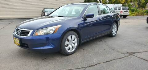 2008 Honda Accord for sale at Appleton Motorcars Sales & Service in Appleton WI