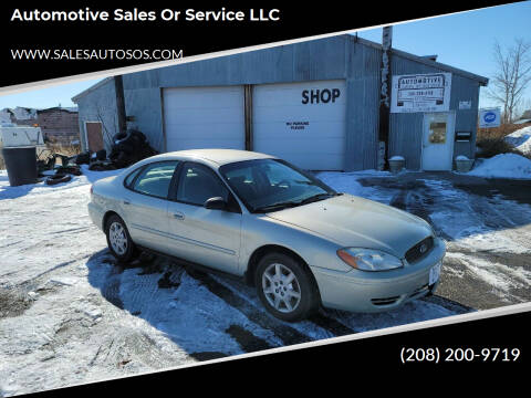 2006 Ford Taurus for sale at Automotive Sales Or Service LLC in Rexburg ID