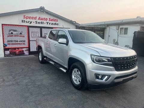 2020 Chevrolet Colorado for sale at Speed Auto Sales in El Cajon CA