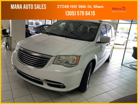 2014 Chrysler Town and Country for sale at MANA AUTO SALES in Miami FL