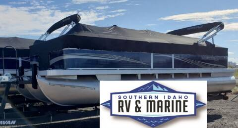 2021 MONTEGO BAY TRI-TOON F8522 for sale at SOUTHERN IDAHO RV AND MARINE in Jerome ID