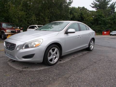 2012 Volvo S60 for sale at Manchester Motorsports in Goffstown NH