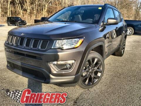 2021 Jeep Compass for sale at GRIEGER'S MOTOR SALES CHRYSLER DODGE JEEP RAM in Valparaiso IN