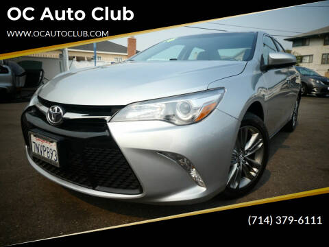 2016 Toyota Camry for sale at OC Auto Club in Midway City CA