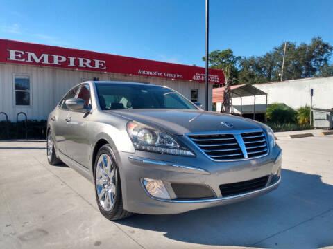 2011 Hyundai Equus for sale at Empire Automotive Group Inc. in Orlando FL