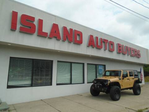 2013 Jeep Wrangler Unlimited for sale at Island Auto Buyers in West Babylon NY