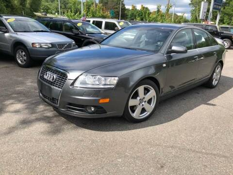 2008 Audi A6 for sale at TOLLAND CITGO AUTO SALES in Tolland CT