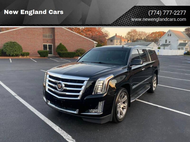 2015 Cadillac Escalade ESV for sale at New England Cars in Attleboro MA