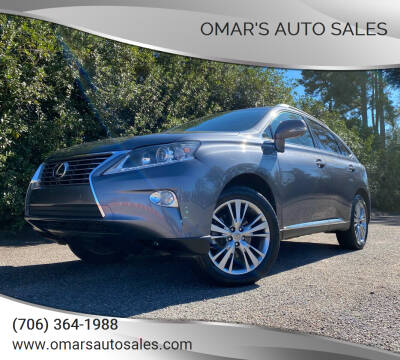 2014 Lexus RX 350 for sale at Omar's Auto Sales in Martinez GA