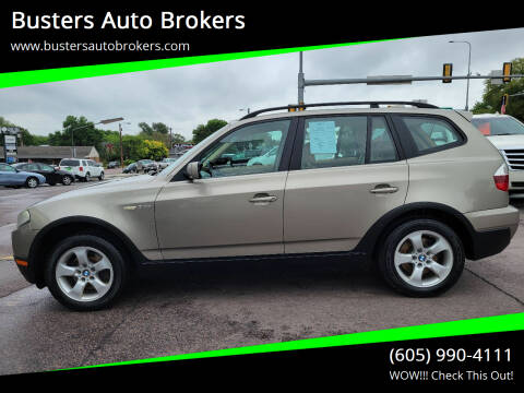 2007 BMW X3 for sale at Busters Auto Brokers in Mitchell SD