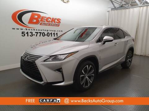 2016 Lexus RX 450h for sale at Becks Auto Group in Mason OH