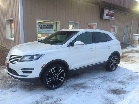 2017 Lincoln MKC for sale at Palmer Welcome Auto in New Prague MN